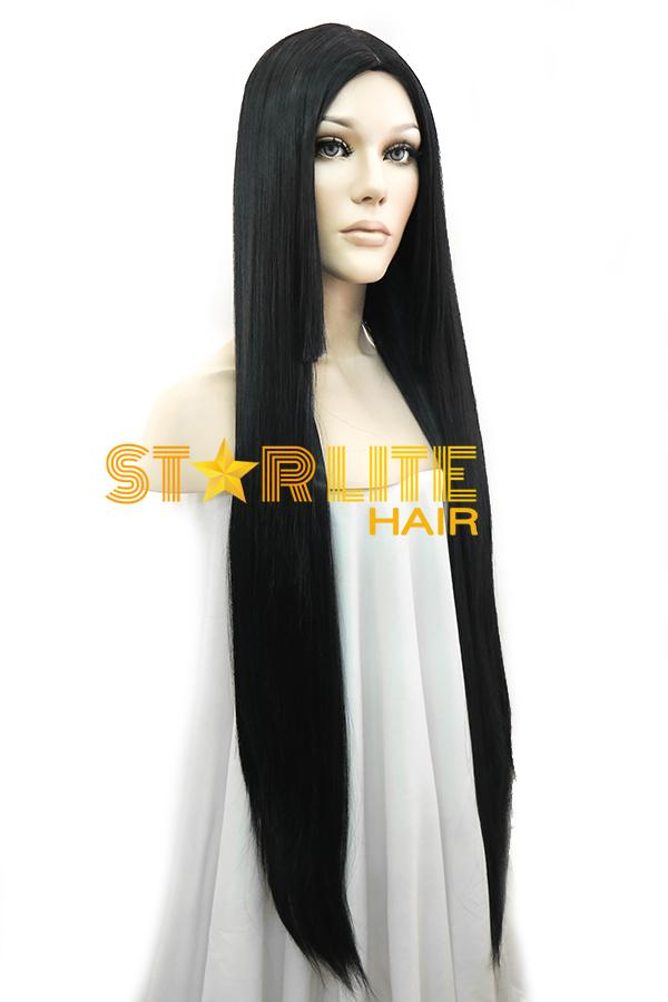 "39"" Black Fashion Synthetic Hair Wig 50151 - StarLite Hair"