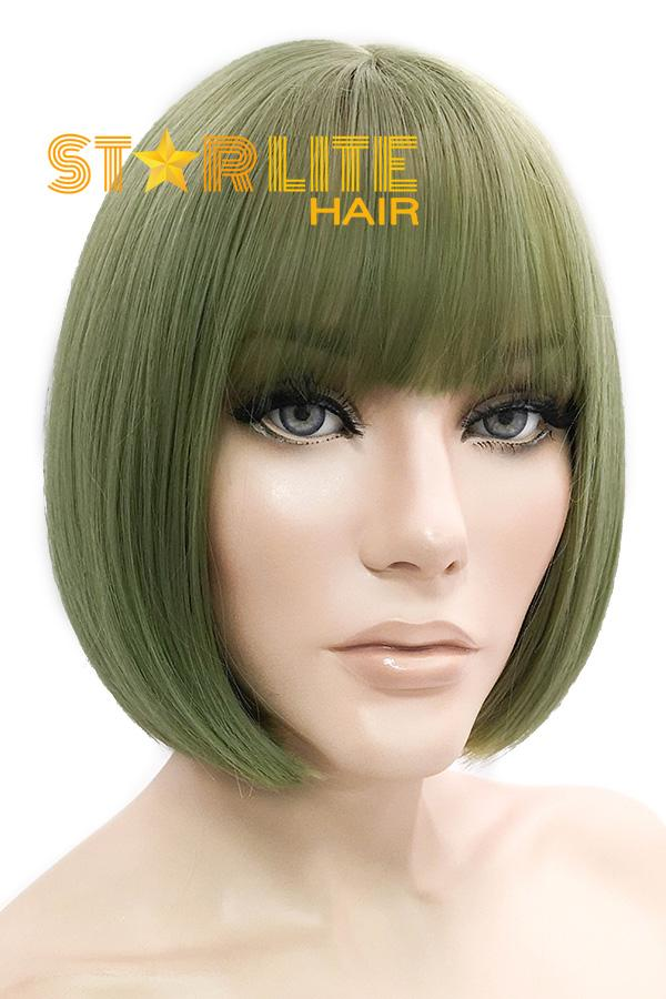 "10"" Green Fashion Synthetic Hair Wig 50220 - StarLite Hair"
