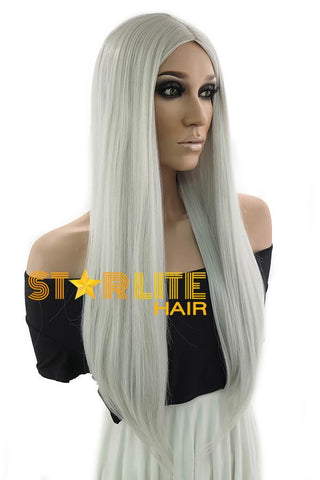 "30"" Brown Blonde Mixed Fashion Synthetic Wig 50233"