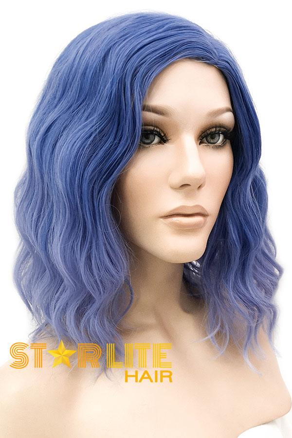 "14"" Two Tone Blue Fashion Synthetic Hair Wig 50214 - StarLite Hair"