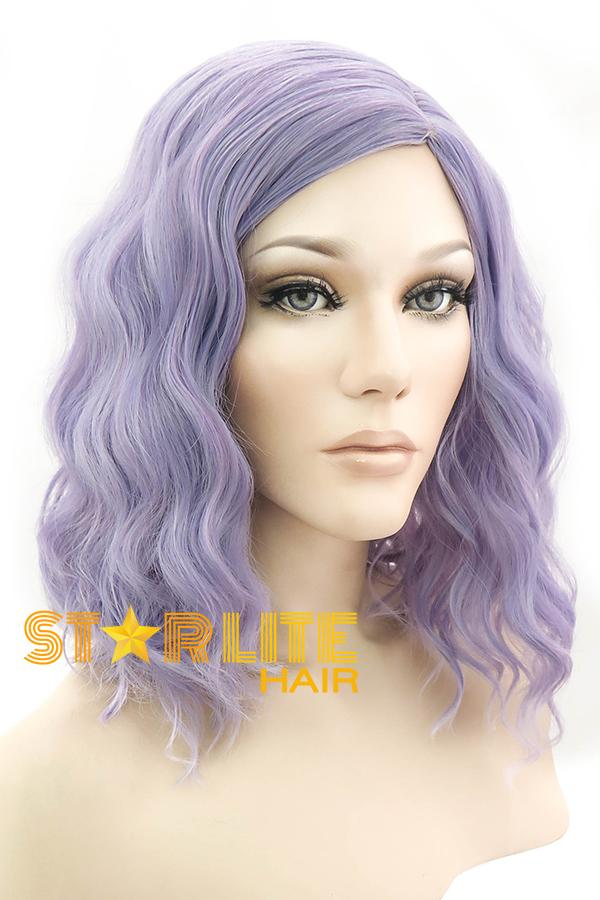 "14"" Light Purple Fashion Synthetic Hair Wig 50126 - StarLite Hair"