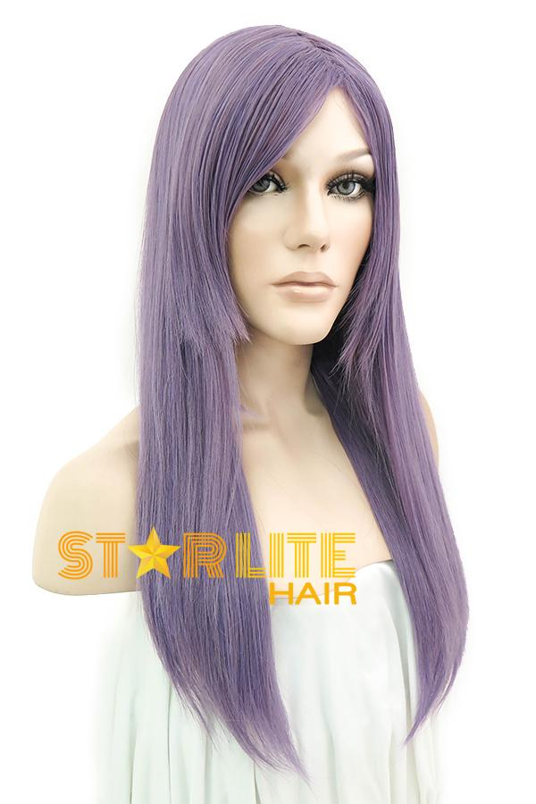 "27"" Light Purple Fashion Synthetic Hair Wig 50090 - StarLite Hair"