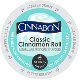 Cinnabon K-Cup Portion Pack for Keurig Brewers Classic Cinnamon Roll 24 Count