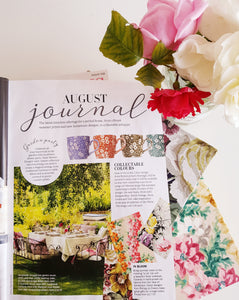 period living August Edition Floral Notebook