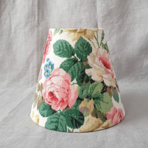 Candle Shade In Sanderson Chelsea Rose