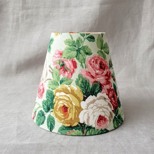 Candle Shade In Painterly Garden Florals