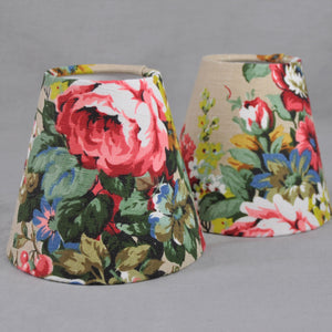 Candle Shade In Vintage Florals