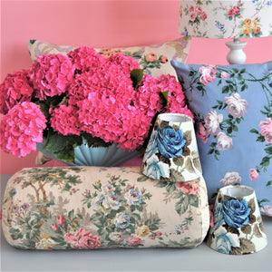 vintage floral furnishings