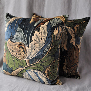 Morris & Co Acanthus Velvet Cushion