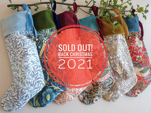 Morris & Co Christmas Stockings - SIGN UP TO BE THE FIRST TO HEAR ABOUT NEXT YEARS!