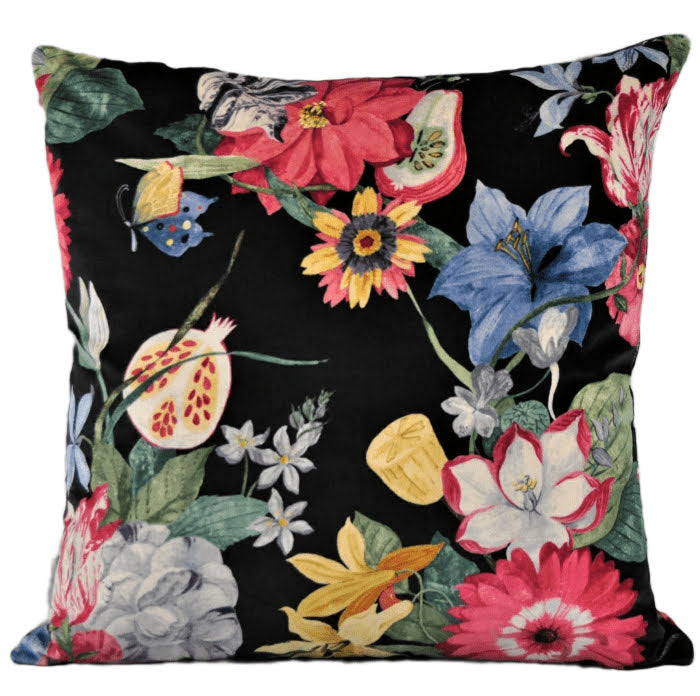 Large Cushion In Jane Churchill 'Ipanema' luxury velvet