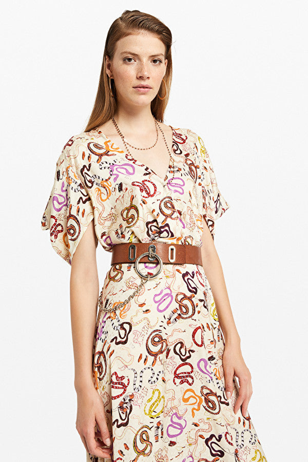 OTTO D'AME SNAKE PRINT DRESS - Ladies Clothing - Buy Online at the White Bicycle