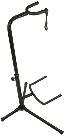Guitar stand with neck support