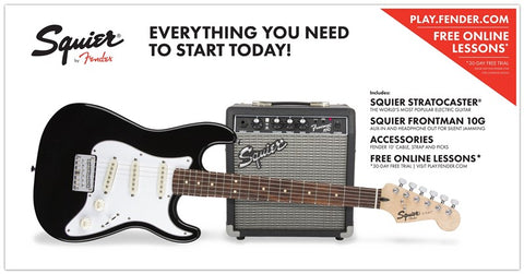 Squier Short Scale Strat Pack