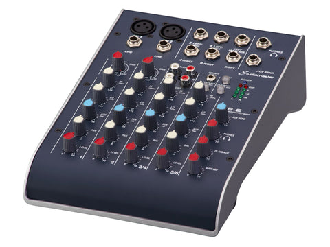 Studiomaster C2S-2 2 Mic + 2 Stereo Ultra Compact Mixer with USB