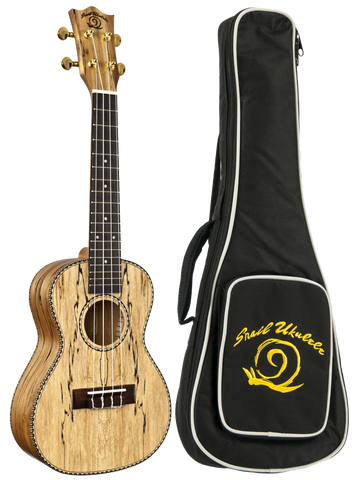 Snail Spalted Maple Concert Ukulele