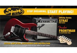 New Squier Strat Pack 2