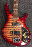 Cort Action Bass - Deluxe Plus - Cherry Red