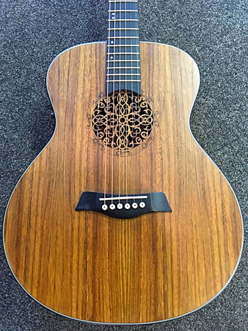 Deviser Walnut Electro Acoustic Guitar