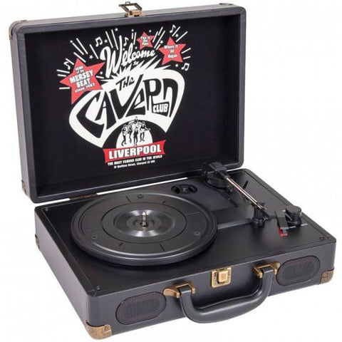 The Cavern Club - Suitcase Record Player