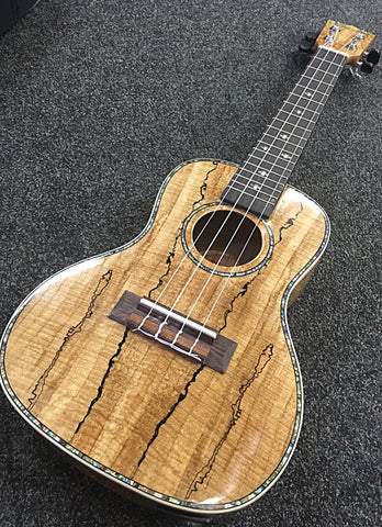 Blackwater Spalted Maple Concert Ukulele with EQ