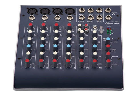 Studiomaster C2S-4 Mixer with USB