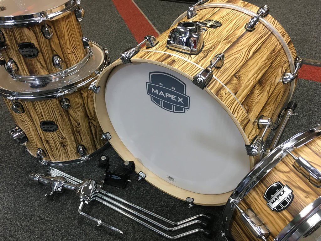 Mapex Mars 18'' 4pc Bebop Shell Pack - Driftwood Finish