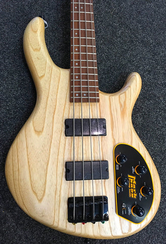 Cort - Action Bass Deluxe - Open Pore Natural