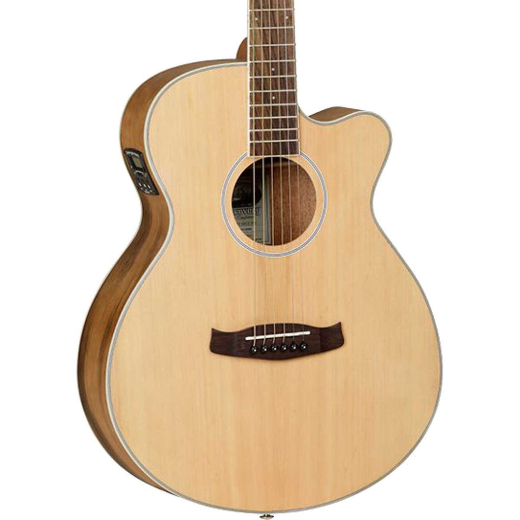 Tanglewood Discovery Electro Acoustic Guitar Ovangkol Holmes Music