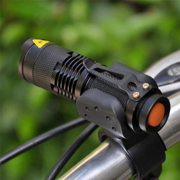 500 lumen 3 Mode Q5 Bike LED Front Light With Mount