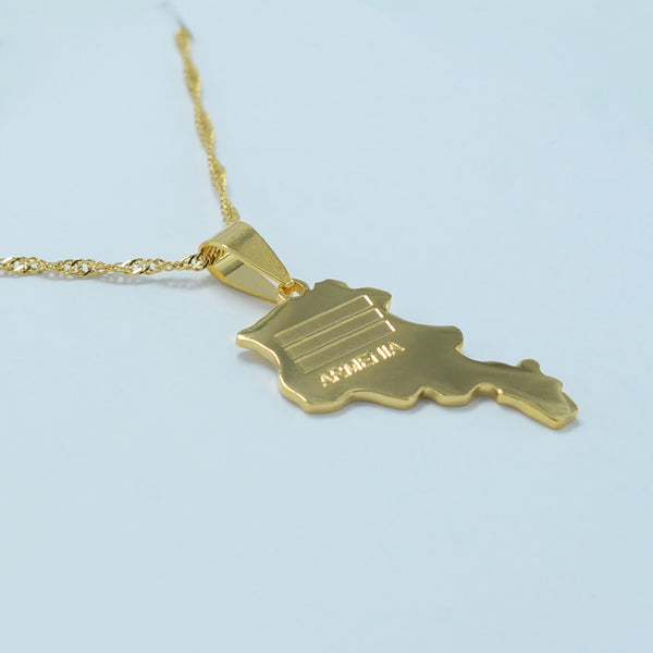 Armenia Map - Limited Edition Necklace