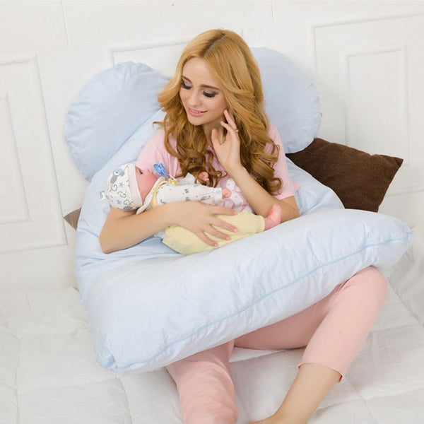 Comfortable U-Shaped Pregnancy And Maternity Pillow