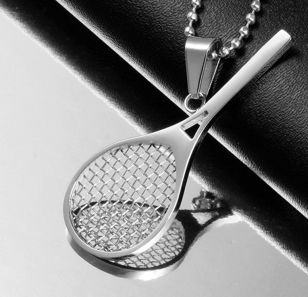 Cute Tennis Racket Necklace for Women