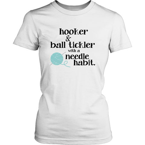 NEW - Hooker & Ball Tickler With A Needle Habit - Limited Edition