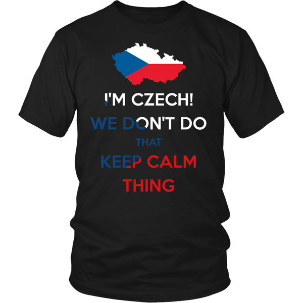 Czechs Don't Do That Keep Calm Thing