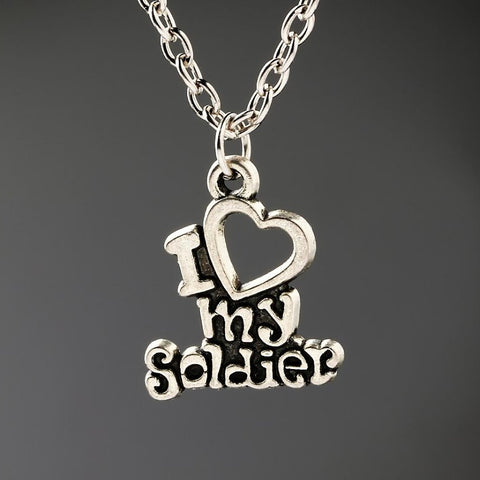 """I Love My Soldier"" Limited Edition Necklace"