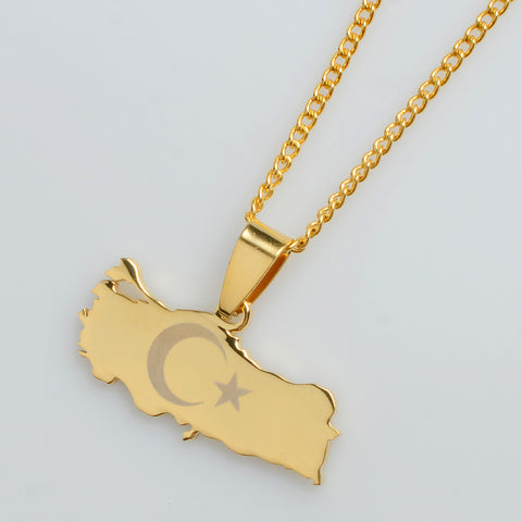 Turkey Map - Limited Edition Necklace