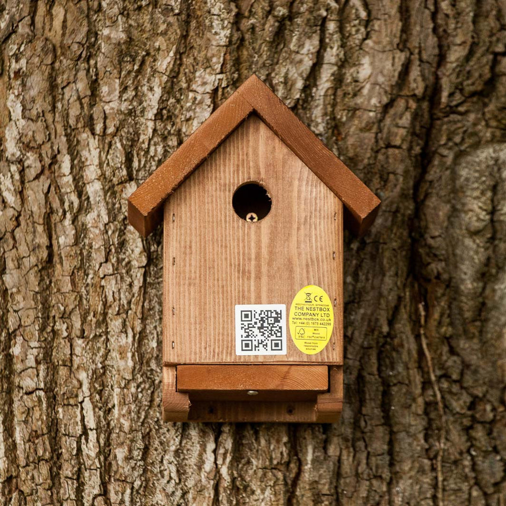 Apex nest box from front