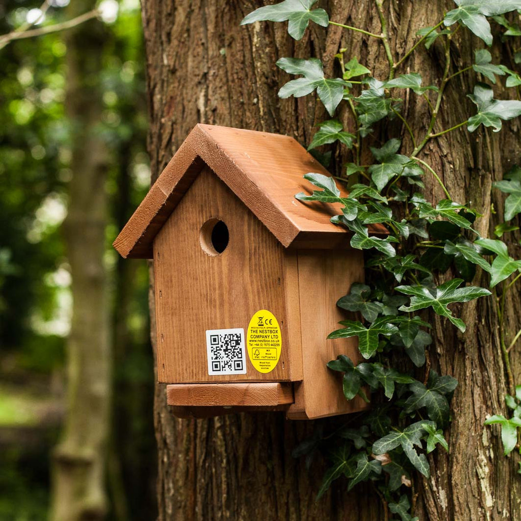 Apex  nest box made from fsc softwood