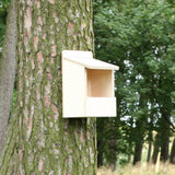 open front nest box made from kit
