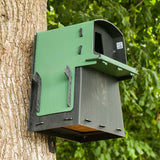 Eco Barn Owl Nest Box on tree
