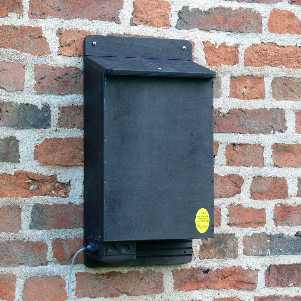 Heated Bat Box for maternity colonies