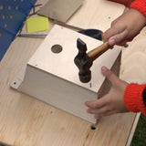assembling bird box from self assembly kit