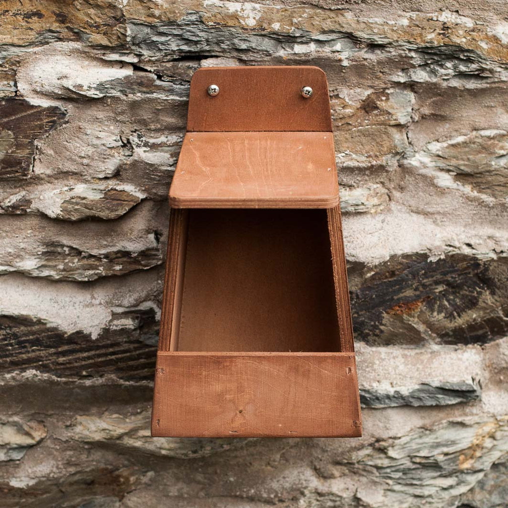 open fronted nest box for robins