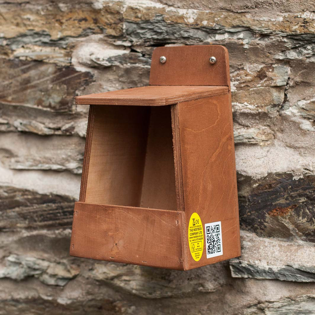 open front nest box for robins