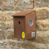 Bird nest box for cameras