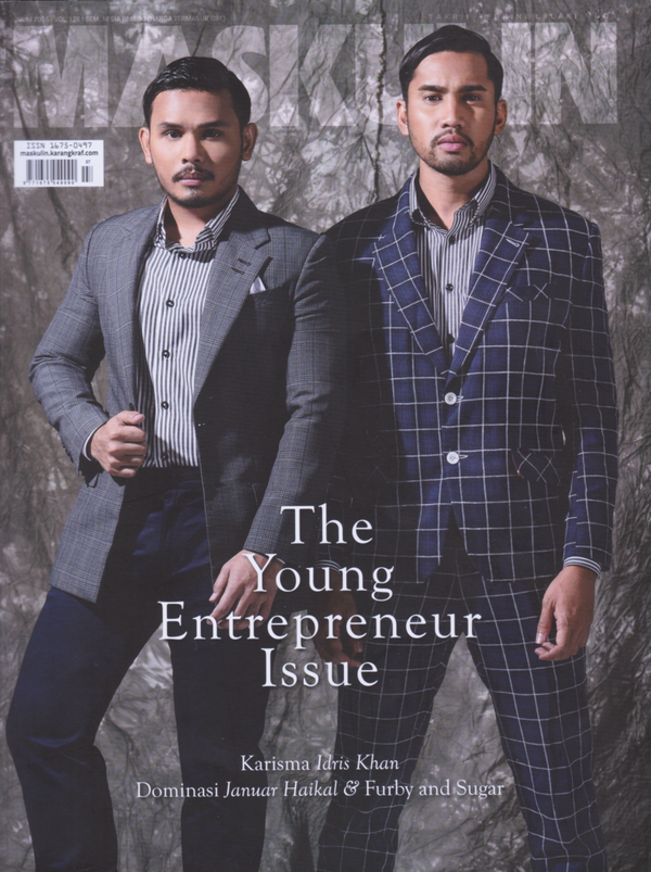 Our Founder Mr Zaid Arif featured in Maskulin Magazine (July Edition)