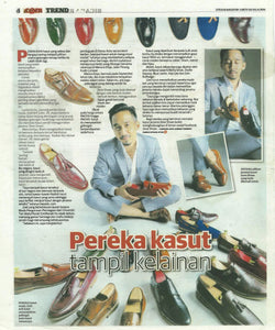 Zeve Shoes Featured in Utusan Malaysia
