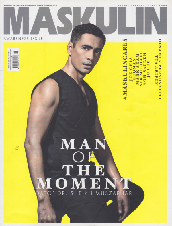 Featured In Maskulin Magazine (May 2016 Edition)