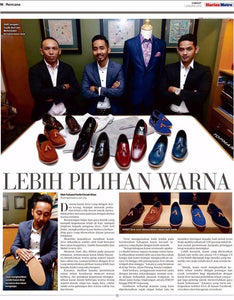 Zeve In The News - Harian Metro 1st Jan 2016